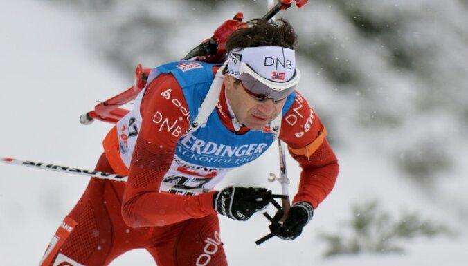 40-летний Бьорндален стал семикратным олимпийским чемпионом!
