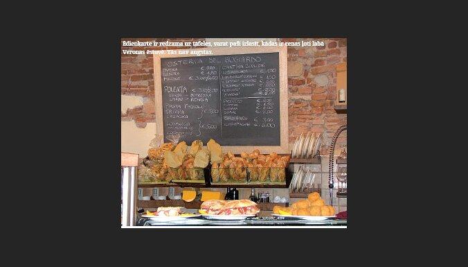 Kafejnīcas ēdienkarte
