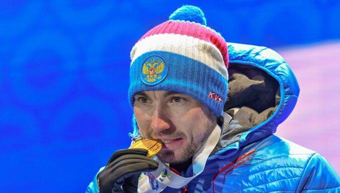 Российский биатлонист Логинов выиграл золотую медаль чемпионата мира