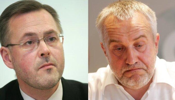 'Parex' pārņemšanas Saeimas izmeklēšanas komisijai virza arī Šķēli un Loskutovu