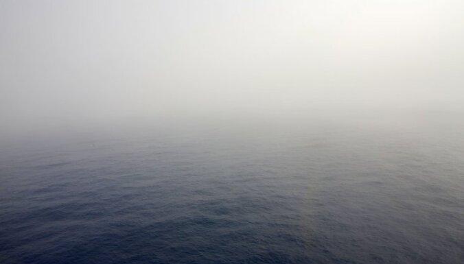 Пограничники помогли латвийским рыбакам, заблудившимся в тумане на Чудском озере