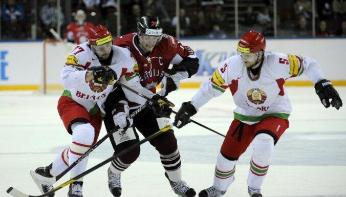 Latvija - Baltkrievija hokejs
