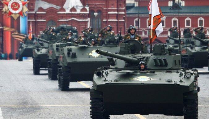 Парад Победы в Москве прошел без авиации