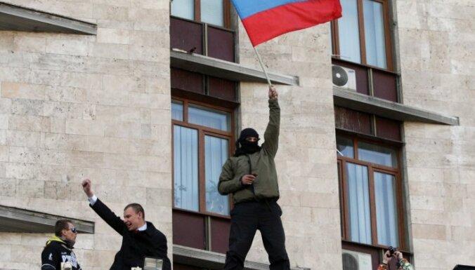 Doņeckas separātisti atsakās pārcelt 11. maija 'referendumu'