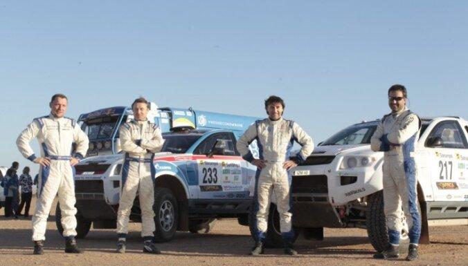 Saukānam/Dzenim 28.vieta 'Africa Eco Race' rallijreida sestajā posmā