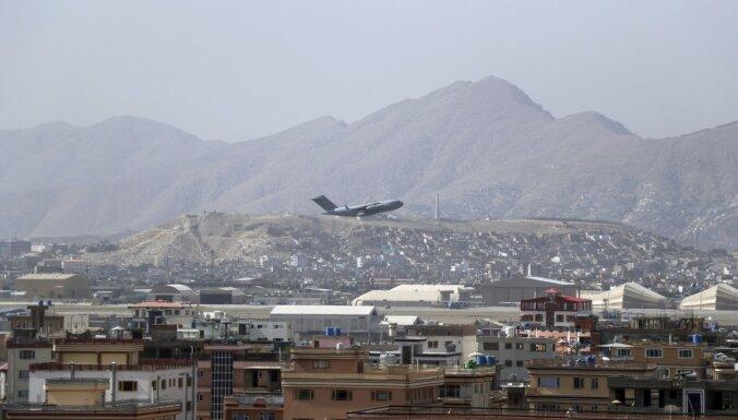 Ar Kataras lidmašīnu no Kabulas evakuēti vairāk nekā 230 cilvēki