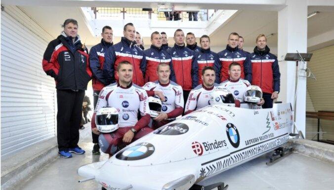 Latvijas bobsleja komanda uz Ziemeļameriku dosies ar trīs pilotiem