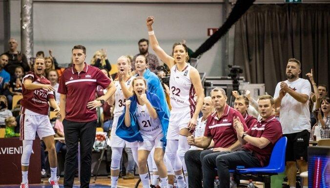 Sieviešu basketbola izlase uzņems sabraukumu Rīgā; vīrieši spēlēs Sarajevā
