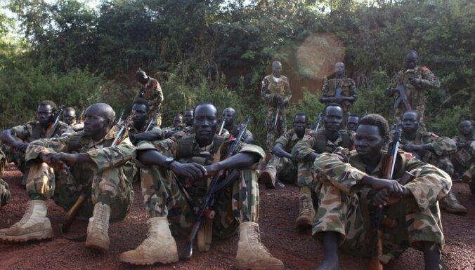 Prezidenta gvarde sarīko apšaudi Dienvidsudānas galvaspilsētā