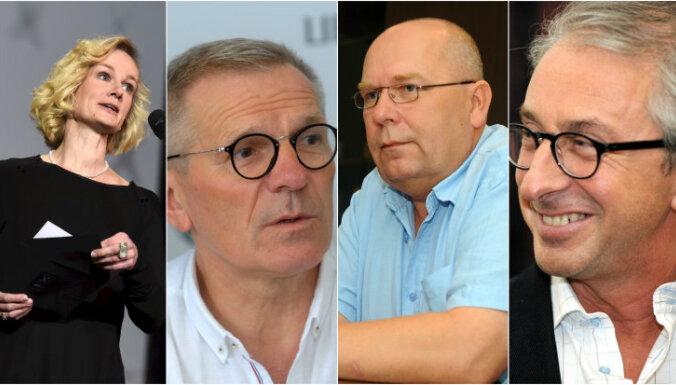 Dailes teātra 'Zinību stundā' tiksies Latvijas lielāko teātru direktori