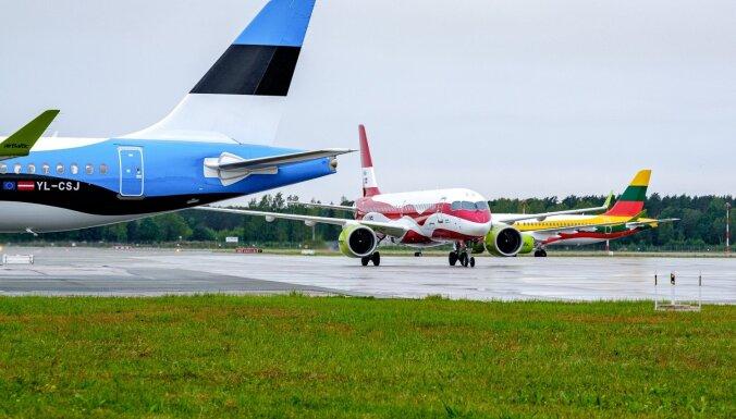 'airBaltic' nākamvasar lidos jaunos maršrutos no Tallinas un Viļņas