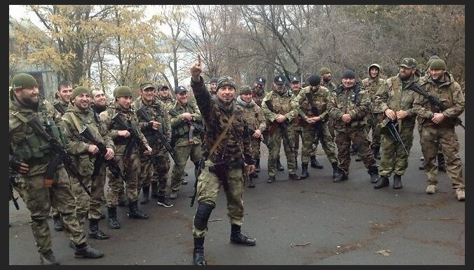Čečenu bataljons 'Nāve': Jaunkrievijai būs pašai sava himna