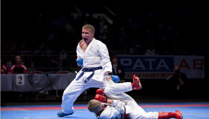 Латвийский каратист завоевал бронзовую медаль на чемпионате Европы