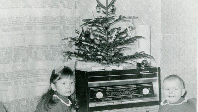 Foto no 'Gadsimta albuma': ziemas prieki un sirsnīgas svinības Latvijā