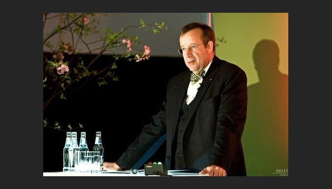 Президент Эстонии верит в Латвию