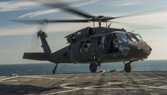 Литва потратит 181 млн евро на закупку американских боевых вертолетов Black Hawk
