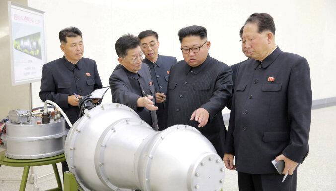 Ziemeļkorejas kodolprogramma joprojām rada nopietnas bažas, ziņo IAEA