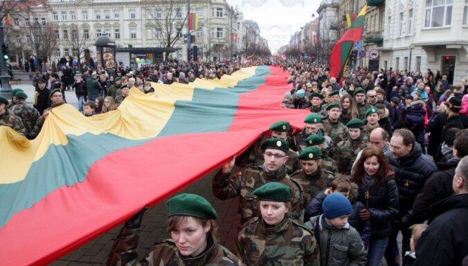 Lietuva svin Valsts atjaunošanas dienu