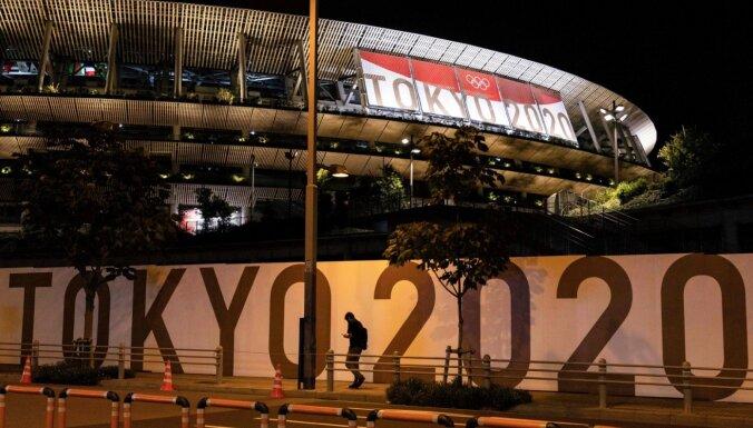 Orgkomitejas vadītājs neizslēdz iespēju pēdējā brīdī atcelt Tokijas olimpiskās spēles