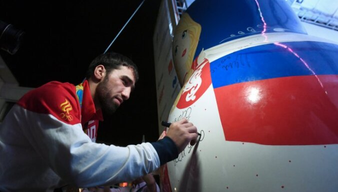 Russian judo wrestler Khasan Khalmurzayev