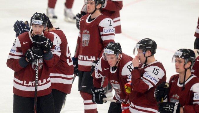 VIDEO: Latvija negūst vārtus arī mačā pret Dāniju