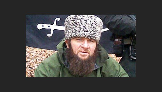 Atentātā pret Putinu aizmuguriski apsūdzēts čečenu kaujinieku līderis Umarovs