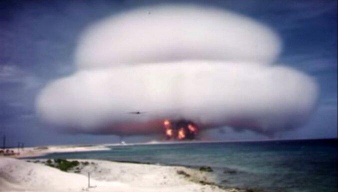 Unikāli video: Atslepenoti ASV atomsprādzienu eksperimentu kinokadri