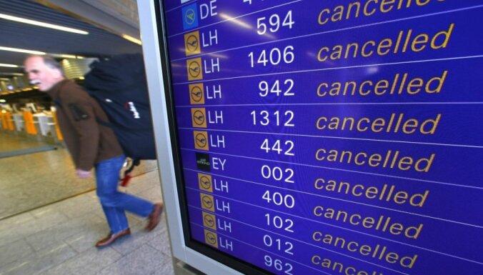 'Lufthansa' piloti nākamnedēļ trīs dienas streikos