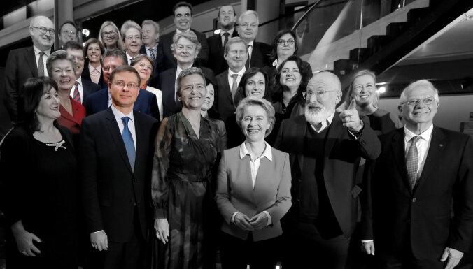 'Delfi' no Strasbūras: Dombrovskis atklāj jaunos pienākumus