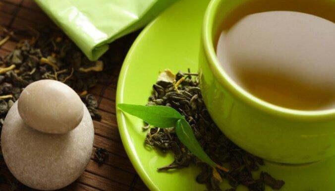 Zaļā tēja ar balto redīsu pret klepu