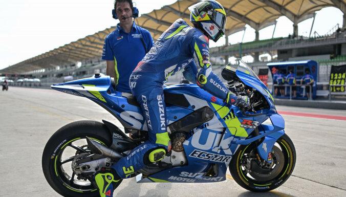 'MotoGP' seriāla sacīkstes šogad notiks tikai Eiropas kontinentā