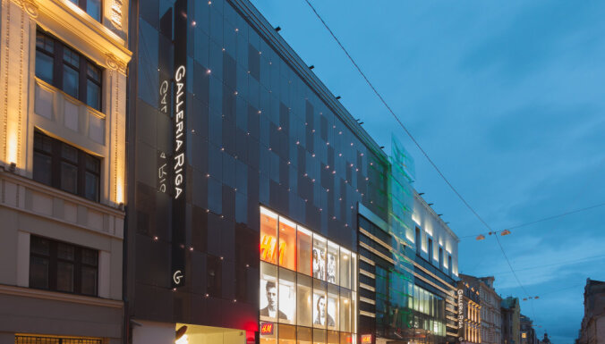 'East Capital' turpina izplesties Rīgā un nopērk 'Galleria Riga'