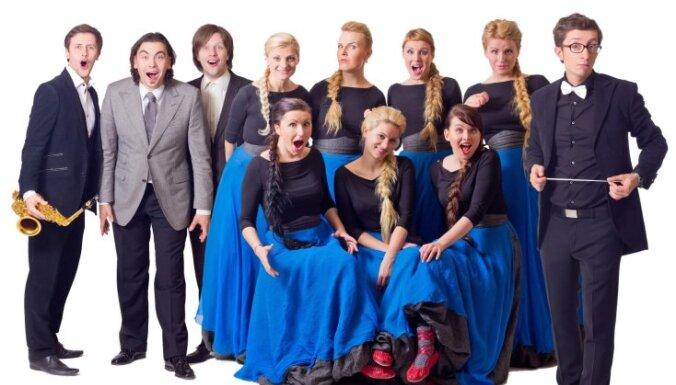 Koris 'Maska', 'Latvian Voices' un 'Xylem Trio' koncertā 'Pamodies Ziemassvētkos II'