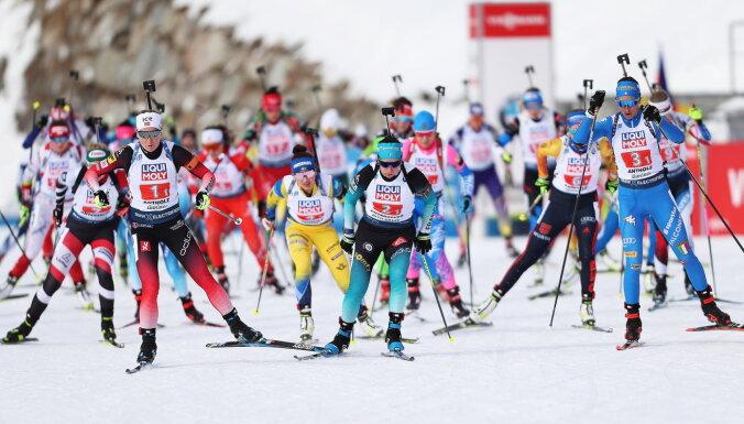 Норвегия взяла первое золото чемпионата мира по биатлону, Латвия не финишировала
