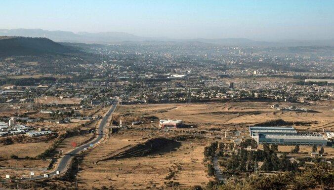 Etiopijas armija dodas uzbrukumā Tigrejas galvaspilsētai Mekelei