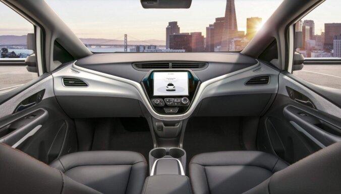 Autonomās braukšanas līderi; 'Google', GM, 'Ford' cīnās par dominanci tirgū