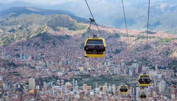 Ar šķipsniņu adrenalīna: iecienīti tūristu objekti pilsētās