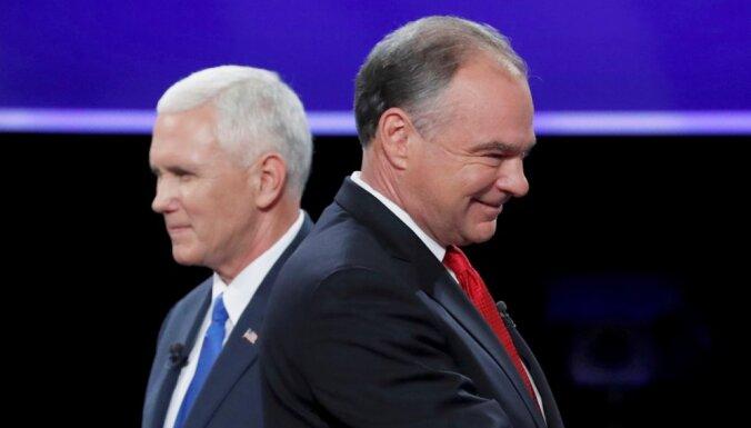 """Дебаты кандидатов в вице-президенты США: спорили о """"маленьком и агрессивном Путине"""""""