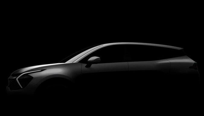 'Kia' atklājusi jaunā 'Sportage' dizaina aprises