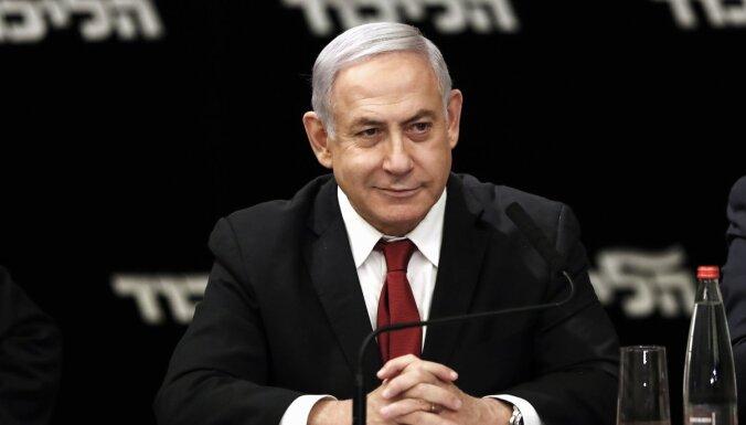 Netanjahu aicina Gancu kopā veidot nacionālās vienotības valdību