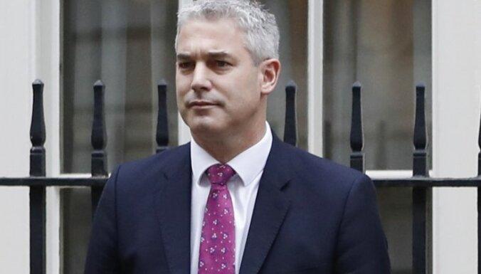 Meja 'Brexit' ministra amatā ieceļ līdzšinējo veselības valsts ministru