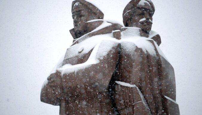 В Латвию вернется морозная погода со снегом