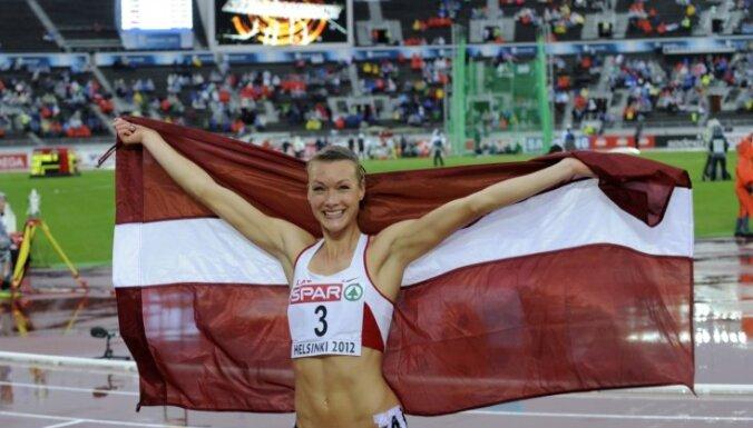 Septiņcīņniece Ikauniece izcīna bronzas medaļu Eiropas čempionātā