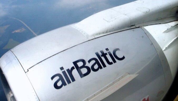 Самолет airBaltic попал в турбулентность: пострадали два пассажира и стюард