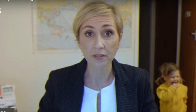 Video: Ja mammai būtu intervija – tapusi parodija par slaveno bērnu 'ielaušanos'