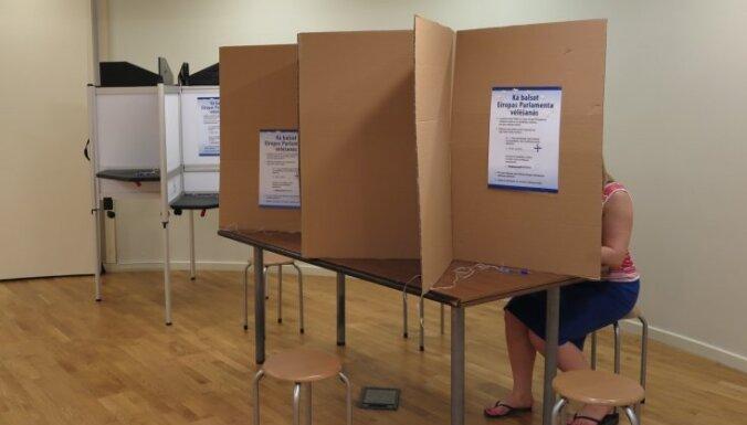 EP vēlēšanu iepriekšējā balsošanā nobalsojuši aptuveni 100 000 jeb 6,81% vēlētāju