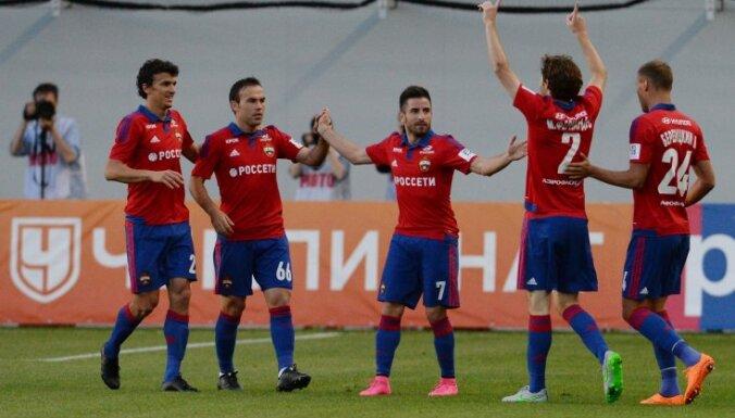 Обнародованы зарплаты игроков ЦСКА, в том числе Цауни