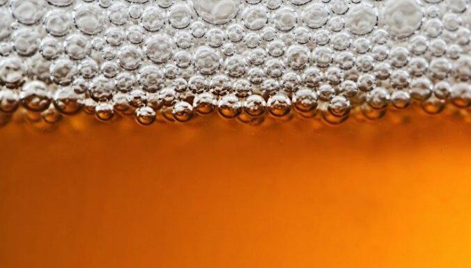 Производство пива в Латвии за четыре месяца снизилось почти на 10%