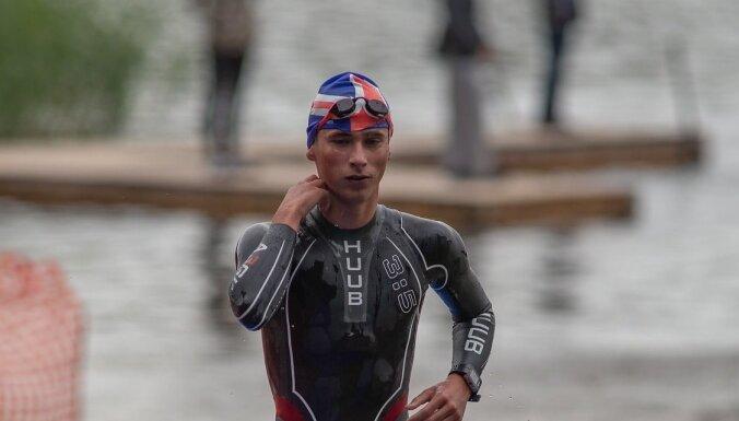 Gajevskis un Medne uzvar Latvijas čempionātā triatlonā