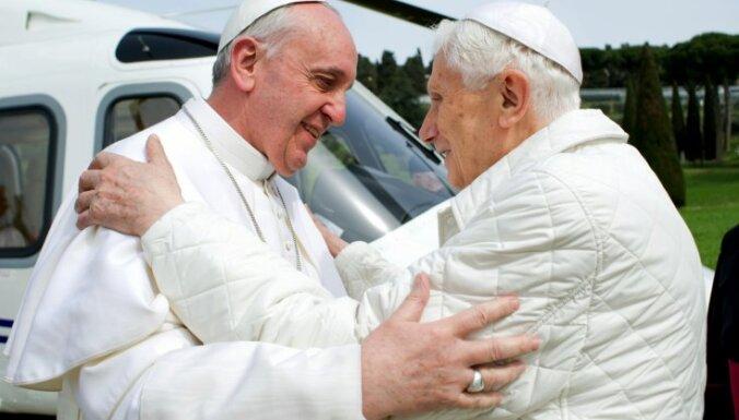 Romas pāvests neizslēdz, ka amatu varētu pamest dzīves laikā
